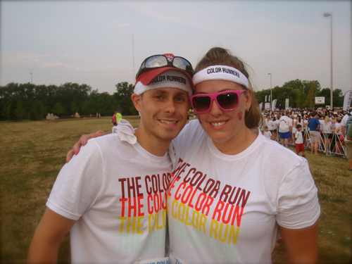 5K, color run, kansas city, first time runners