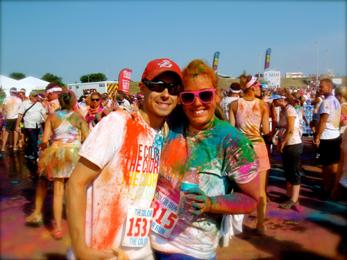 5K, color run, kansas city, first time runners, finale, party