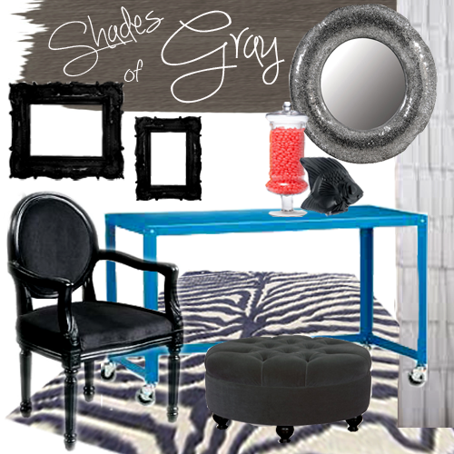 Moodboard, gray, lighting, office, rug, chair, black, paint, color, DIY, remodel, idea