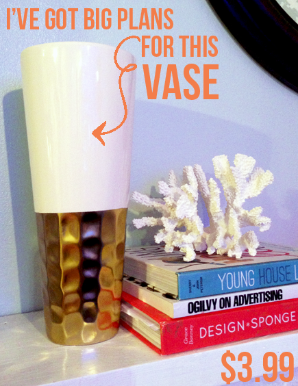 blingin vase