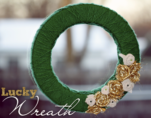 Get lucky wreath