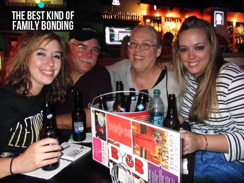 beer lovin family