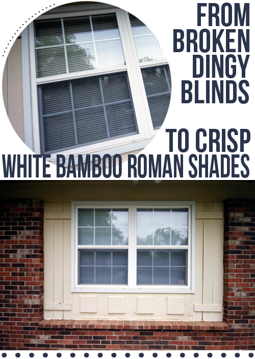 before & after blinds