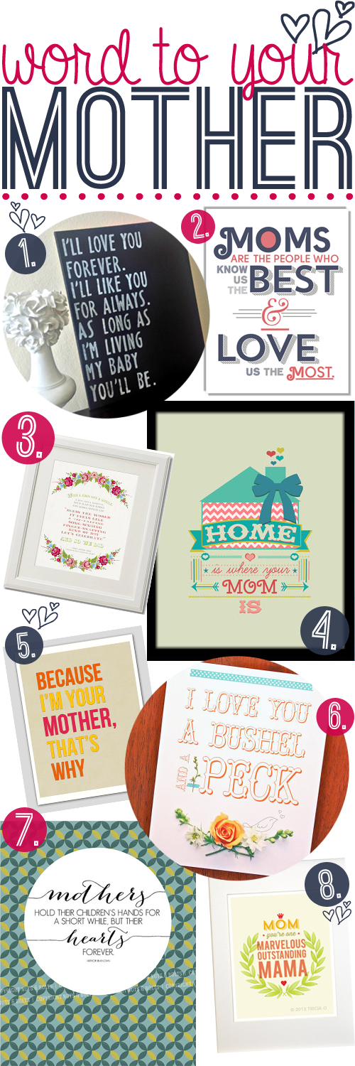 mothers day etsy prints