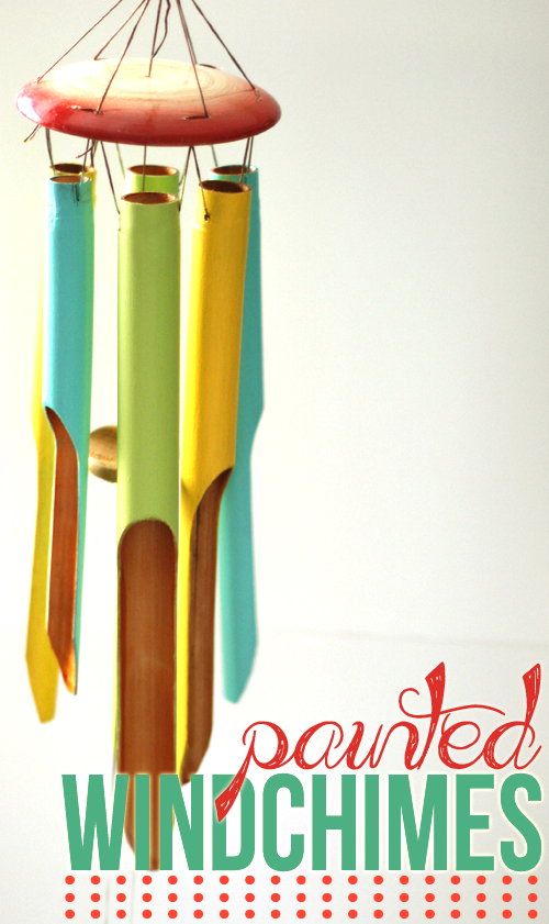 painted windchimes