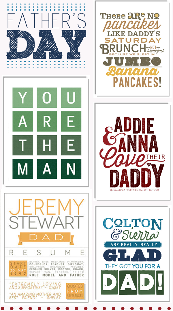 fathers day art prints