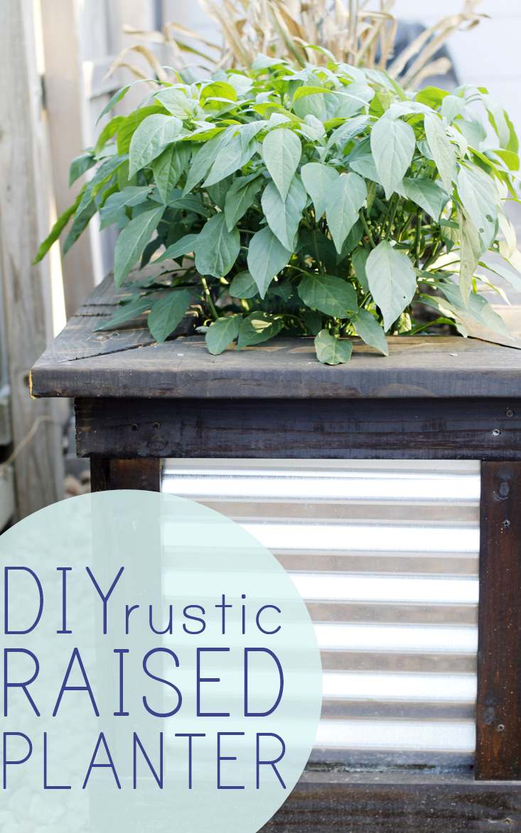 diy-rustic-raised-planters